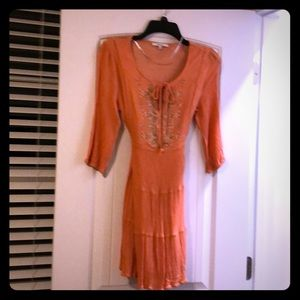 Missme orange dress large
